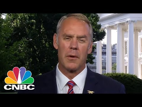 Interior Secretary Ryan Zinke On US Energy Dominance | CNBC