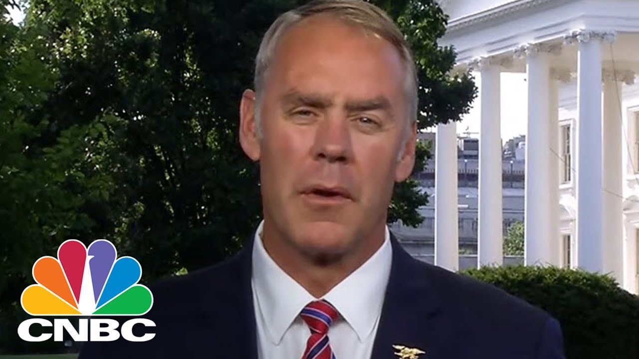 Interior Secretary Ryan Zinke On US Energy Dominance | CNBC