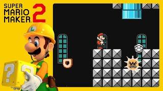 SUPER MARIO MAKER 2 | Criando Uma Fase MUITO Difícil! (Gameplay Ao Vivo)