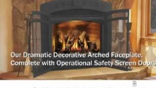 Napoleon Gd70 Starfire™ Direct Vent Gas Fireplace - Elitedeals.com