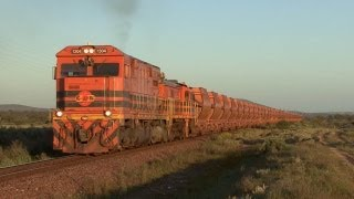 OneSteel Whyalla Tramway - Iron Ore on the Narrow Gauge: Australian Trains