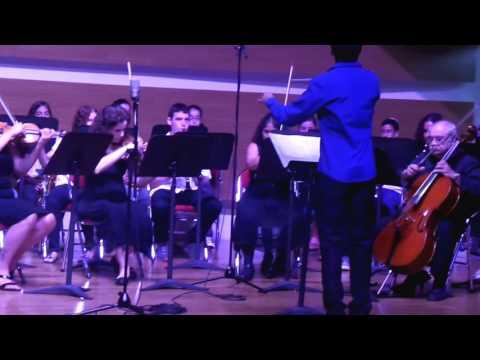 David Attar with  Rosh Haayin orchestra July 2016