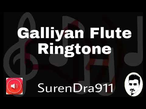 Galliyan - Ek Villain    Flute    Romantic    Bollywood    Ringtone911
