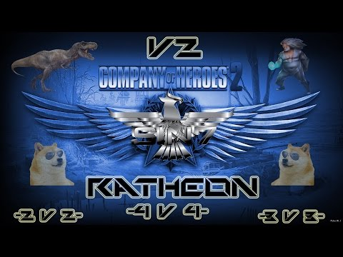 Company Of Heroes 2 4v4 - Under The Sea