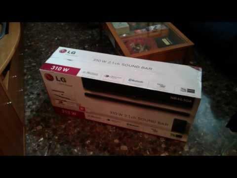 lg sound bar nb4530a manual