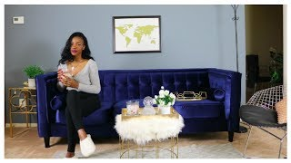 Home Decor and Furniture Tour!! Ft. Wayfair (Not Sponsored)   MaxTyree