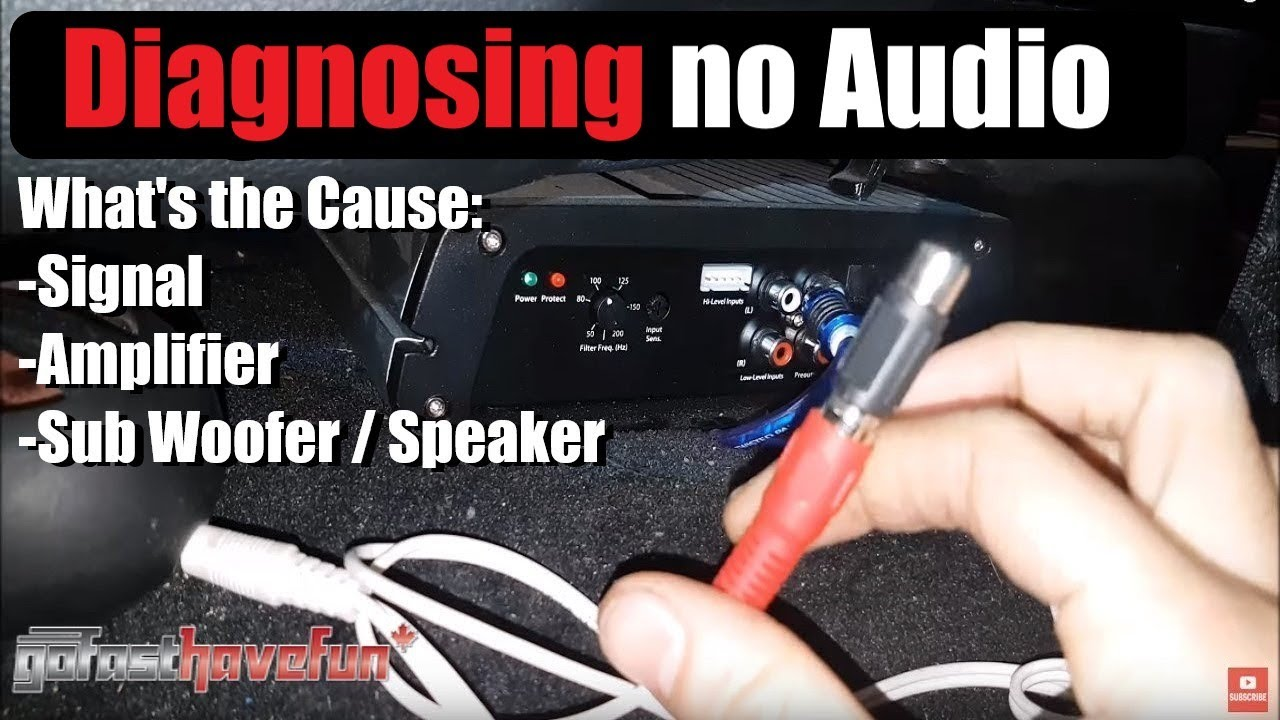 Diagnosing an Amplifier with no sound QUICKLY | AnthonyJ350