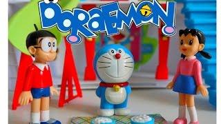 Maison Cosmique de Doraemon avec personage jouet playset