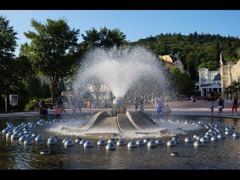 Brunnen in Marien Bad (Tschechische Republik)