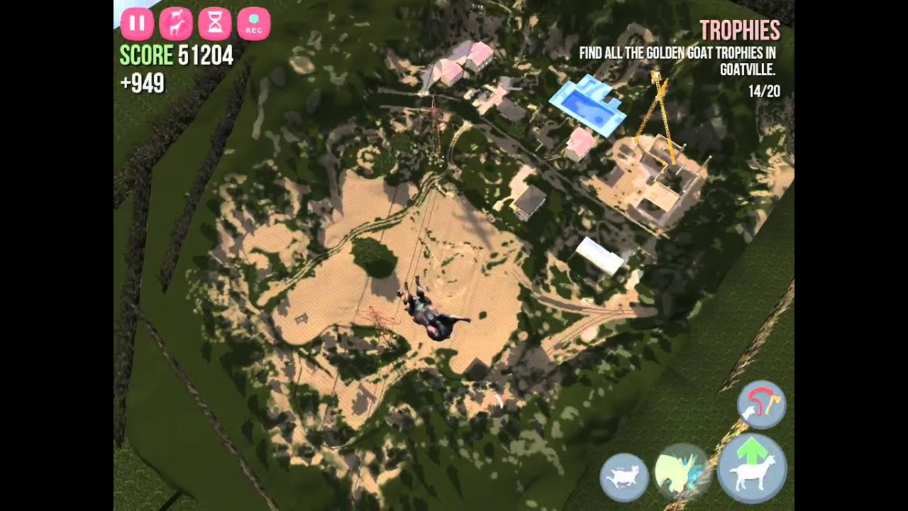 Goat Simulator] The map of goat sim - YouTube