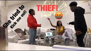 SHE STOLE MY WALLET PRANK on Kellie Sweet! *GONE WRONG* (Vlogmas Day 1)