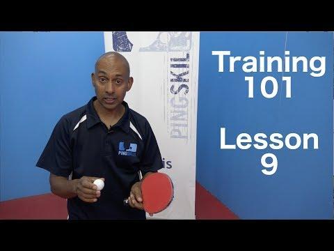 Training 101   Returning Spin Serves   Table Tennis   PingSkills