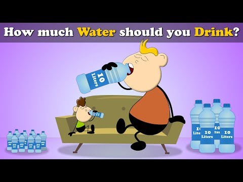 How Much Water Should You Drink Per Day? | #aumsum