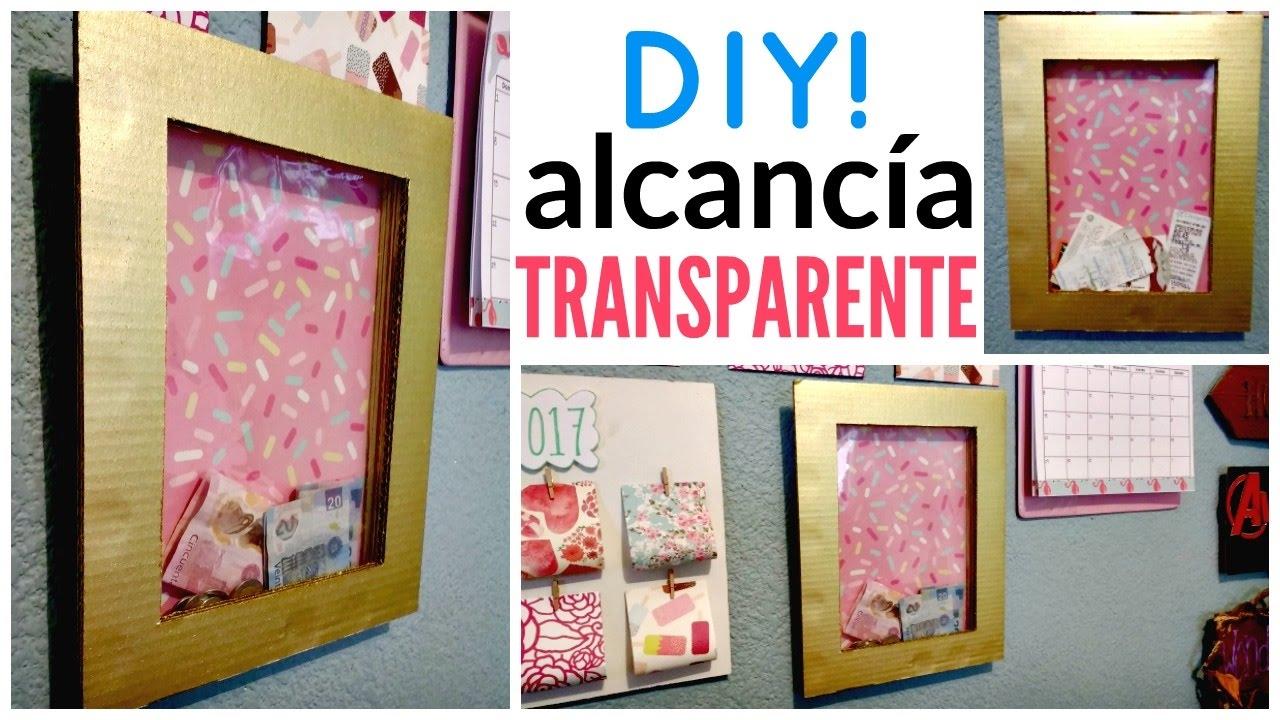 Diy alcanc a cuadro ahorra y decora ame may n youtube - Como hacer cuadros faciles en casa ...
