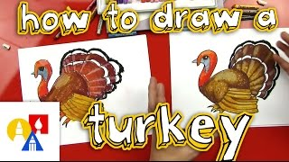 How To Draw A Turkey