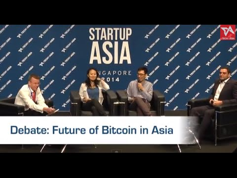 [Startup Asia Singapore 2014] Debate: The Future of Bitcoin in Asia