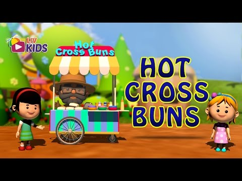 Hot Cross Buns with Lyrics | LIV Kids Nursery Rhymes and Songs | HD