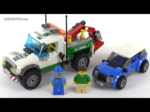 LEGO City 2015 Pickup Tow Truck review! set 60081 - YouTube