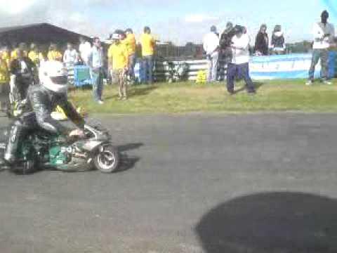 """Robo Challenge Power Tool Drag Racing """"Stretchy Mo..."""