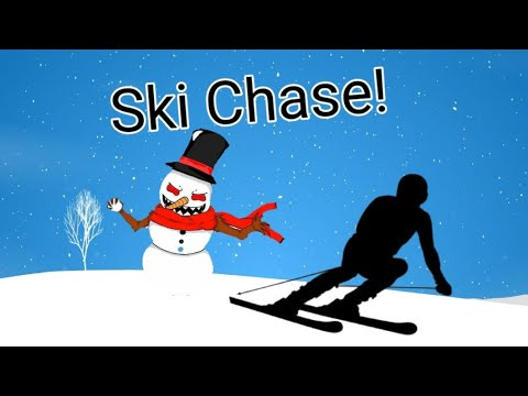 Ski Chase - Winter themed PE Game