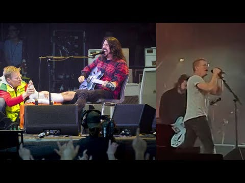 Dave Grohl Spots Doctor Who Treated His Leg, Lets Him Perform Foo Fighters Song