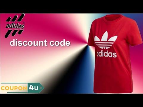 Corchete Rechazar Conquistador  adidas discount code l adidas code l adidas discount coupon - YouTube