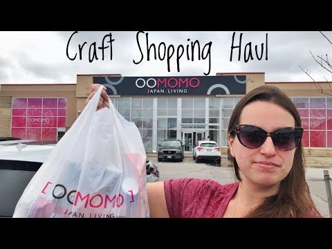 OOMOMO Daiso Canada | CRAFT SHOPPING HAUL