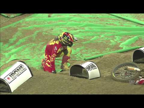Tim Gajser 2nd crash SMX Cup 2016