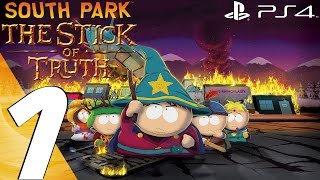 South Park Stick of Truth (PS4) - Gameplay Walkthrough Part 1 - Prologue (Remastered)