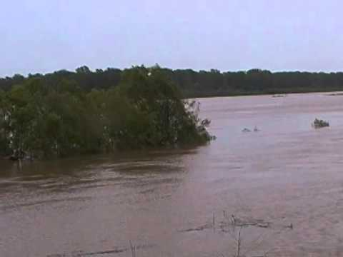 Red river flood 2015 north of Clarksville, Texas part3