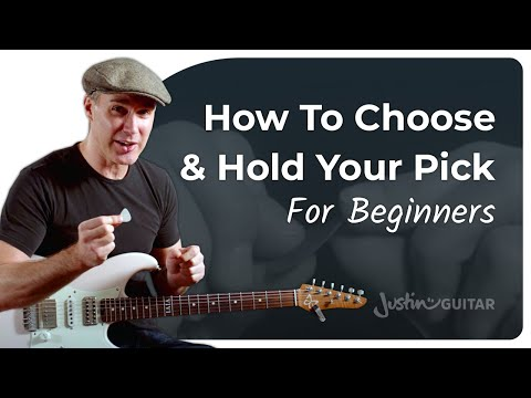 Are you SURE you are using the RIGHT pick? Holding it CORRECTLY?