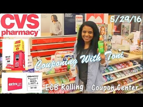 CVS In-Store 5/29/16 | ROLLING ECB'S | Couponing With Toni