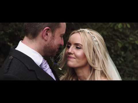 Christine & Greig's Wedding Film highlights, Montrose Street & Blythswood Square Hotel (Glasgow)