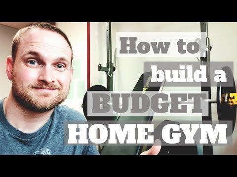 How to build a budget home gym