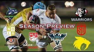 Major League Rugby Season Preview | The Hook 38