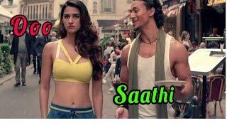 O saathi | Tere Bina | Baaghi 2 |Tiger Shroff | Disha Patani| Lyrical video