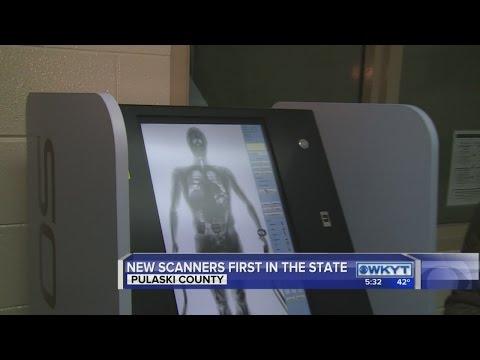 Pulaski County jail welcomes body scanning technology