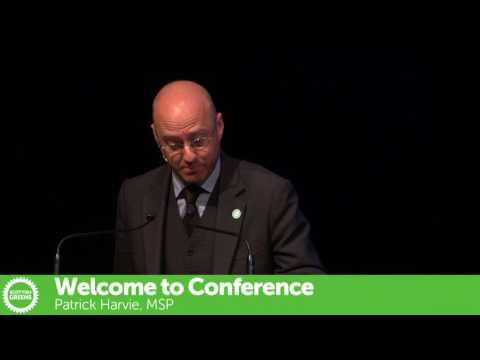Patrick Harvie - Scottish Green Autumn Conference 2016
