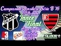 [Série B 16] Lance Final   Pós-jogo Ceará SC 1 X 0 Oeste FC/SP  Equipe Bola na Rede