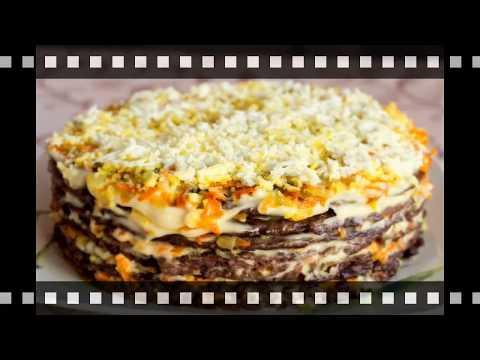 Рецепт печеночного торта из свиной печени