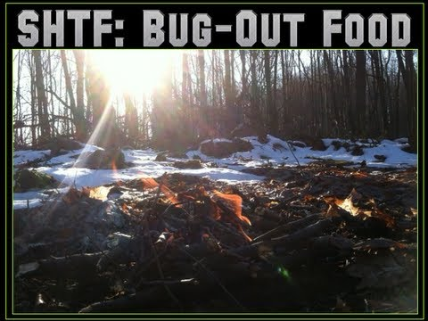 SHTF Prepping : Bug Out Food - LRP