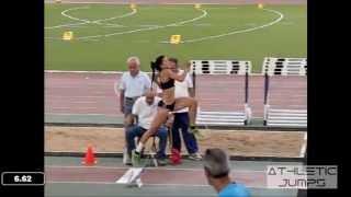 GALENI 6.62 - WOMEN'S LONG JUMP - GREEK ATHLETICS CHAMPIONSHIP 2013