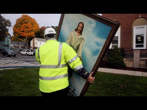 Ken Holiday - Painting Survives Fire That Destroyed the Church
