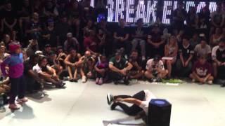 Bgirl Terra vs Bgirl Sunny Outbreak 2015 Finals