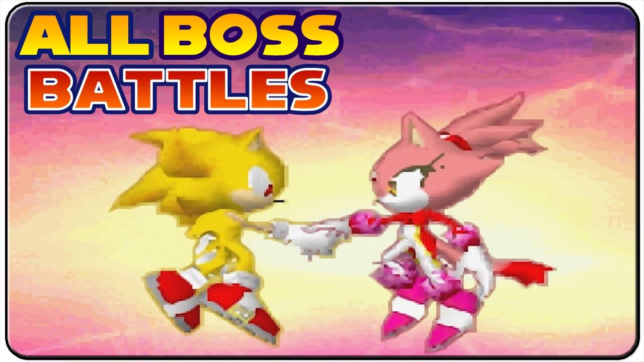 Sonic Rush - All Bosses (S Rank)