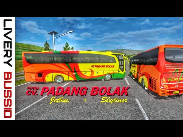 Livery bussid || Putra Padang Bolak Jetbus + Skyliner by BlahBloh #1