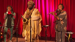 "Kamasi Washington performing ""The Space Travelers Lullaby'' live on KCRW"