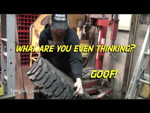 Changing Skidsteer Tires