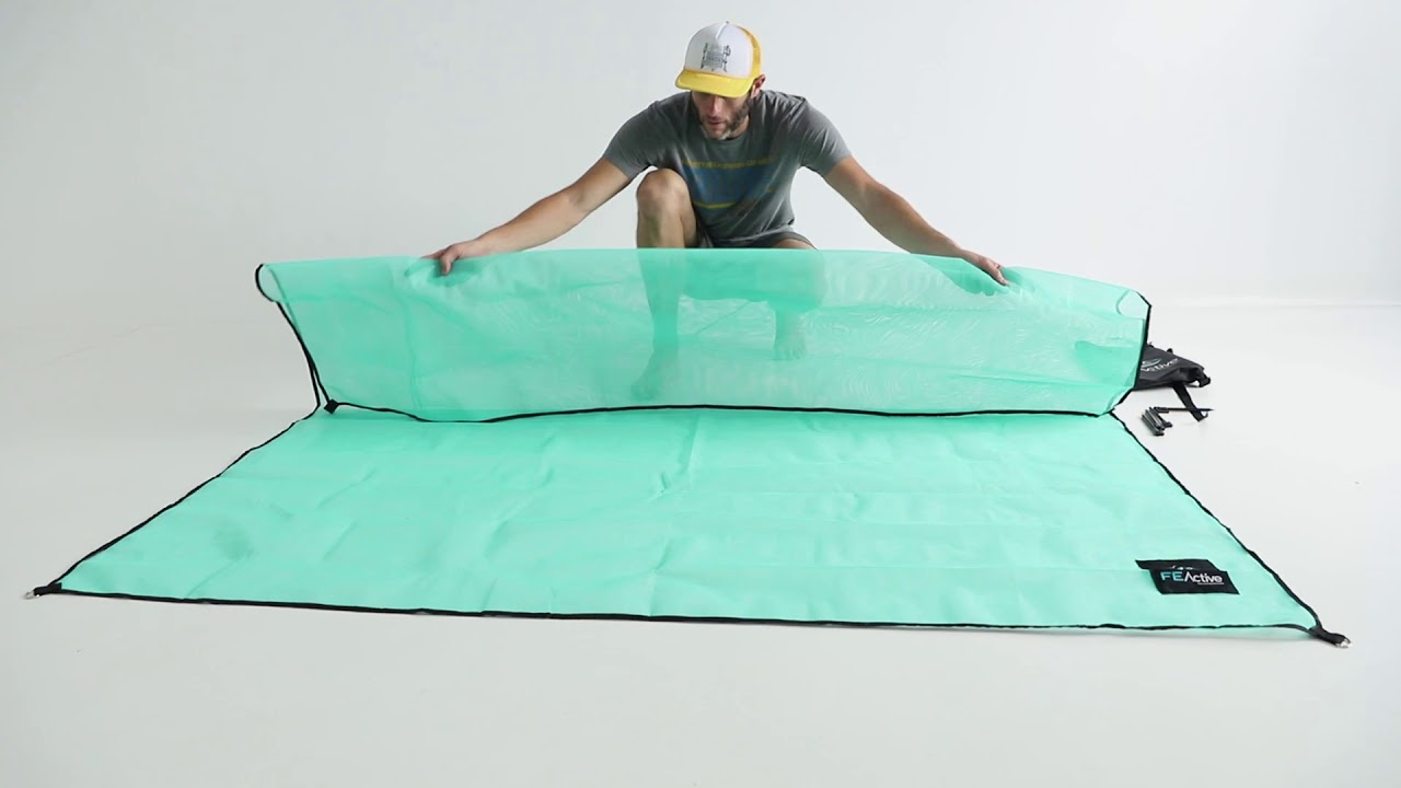 "FE Active ""Weligama"" Sand-Free Blanket Set-Up Guide"