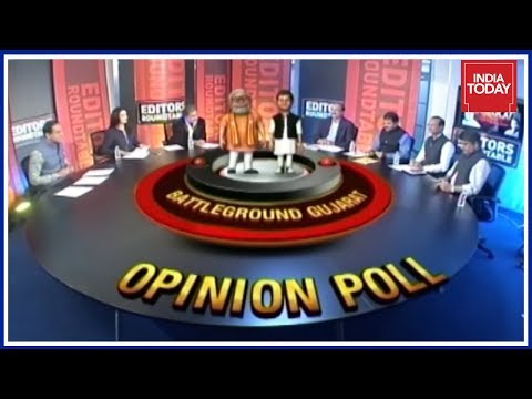 Editors Roundtable : Opinion Poll Predicts Gujarat Polls To Go Down To Wire | Newsroom
